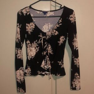 Floral s laced Aero long sleeve